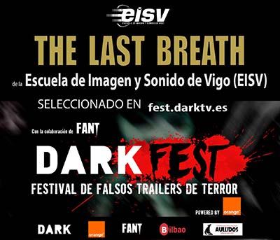The last breath de EISV seleccionado en DARK FEST