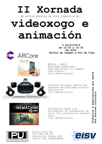 IIª Jornada del Videojuego y de la Animación en EISV