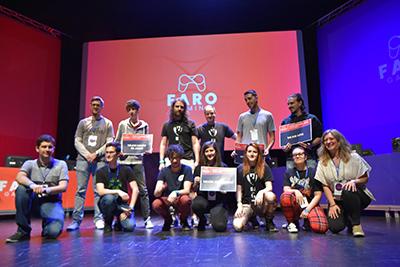 Alumn@s de Animación 3D y Videojuegos de la EISV premiados en la Faro Gaming 2019
