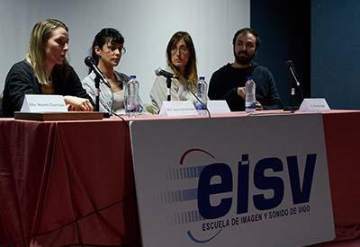 Encontros Premios Mestre Mateo en la EISV