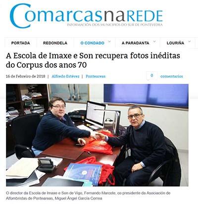 EISV recupera fotos inéditas del Corpus