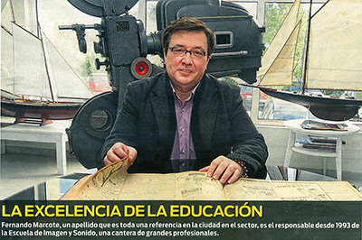 Entrevista a Fernando Marcote director de la EISV