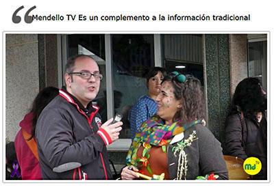 Cristian López Exalumno de EISV creador de Mendello Tv