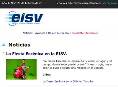 Ir a EISV Newsletter 02 - 28 de Febrero de 2013