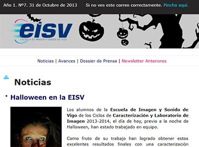 Ir a EISV Newsletter 07 - 30 de Octubre de 2013