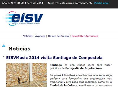Ir a EISV Newsletter 09 - 31 de Enero de 2014