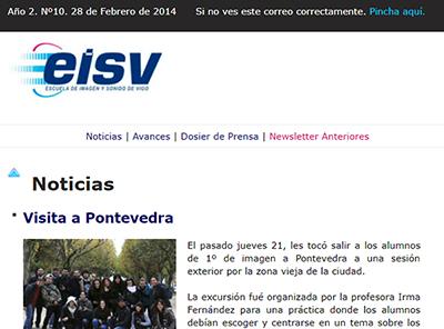 Ir a EISV Newsletter 10 - 28 de Febrero de 2014