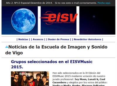 Ir a EISV Newsletter 13 - Especial Diciembre de 2014