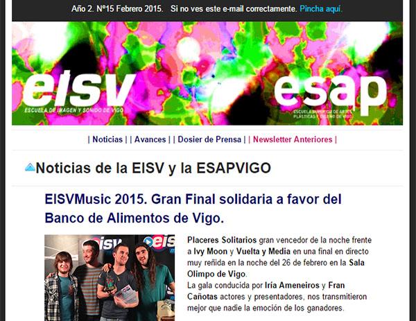 Ir a EISV Newsletter 15 - Febrero de 2015