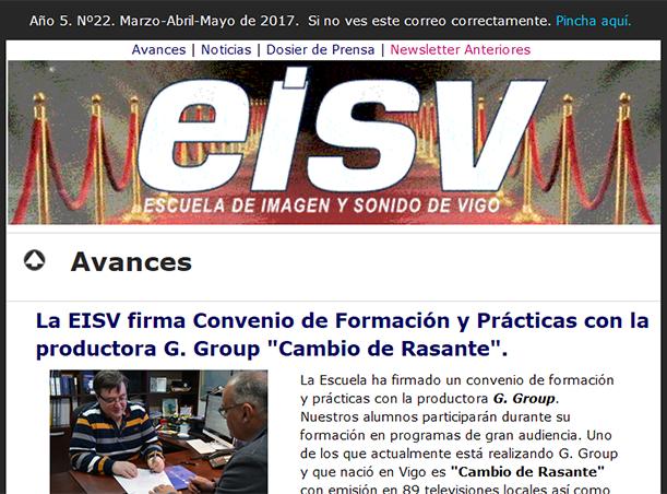 Ir a EISV Newsletter 22 - Mayo de 2017