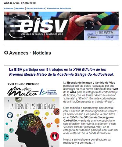 Ir a EISV Newsletter 30 Enero de 2020
