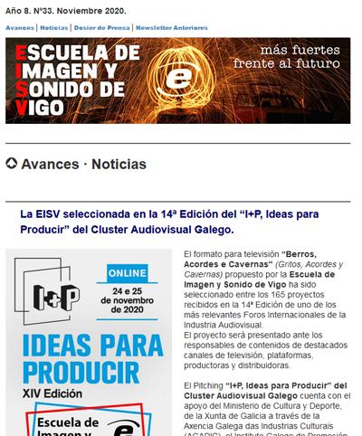 Ir a EISV Newsletter 33 Noviembre de 2020