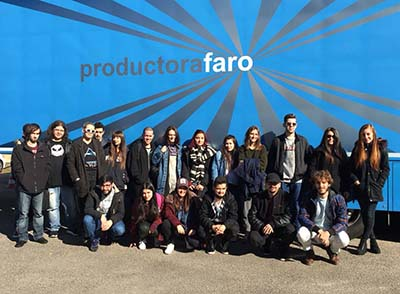 Alumnos de EISV visitan la Productora Faro