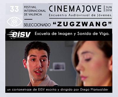 ZUGZWANG seleccionado en el Festival Cinema Jove