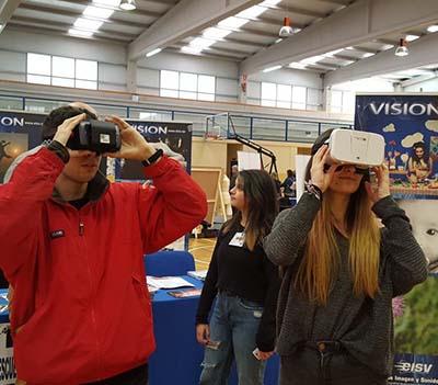 EISV participa I Feria de Enseñanzas Profesionales y Artísticas en Ponteareas