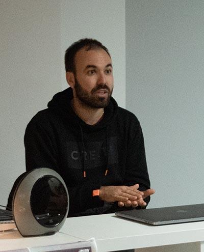El director Alvaro Gago en la EISV #EncuentrosConArtistas